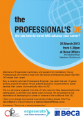 The Professionals OE flyer